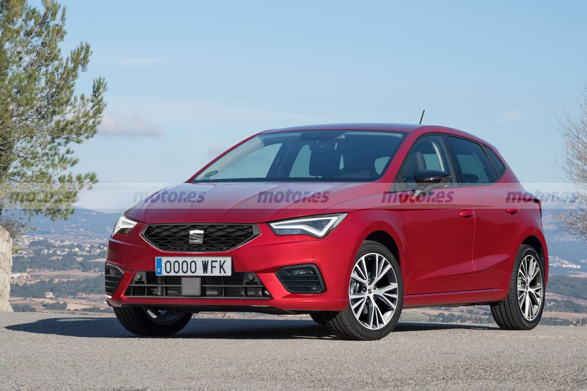 SEAT Ibiza Facelift 2021, así será el utilitario rediseñado que llegará el próximo año