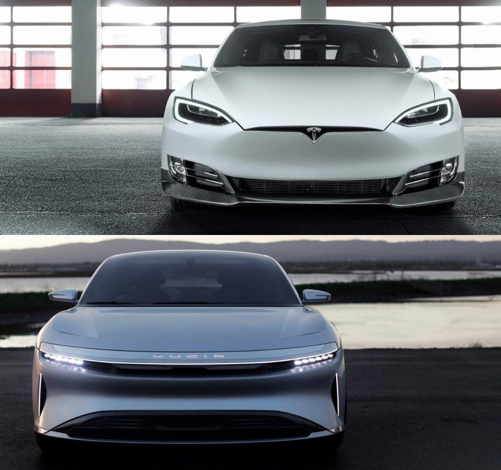 Tesla Model S vs. Lucid Air Dream. Continúa la guerra por el eléctrico más rápido y potente