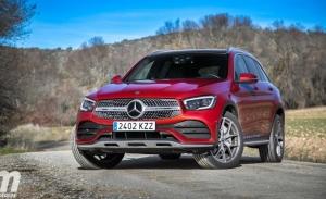 Alemania - Agosto 2020: El Mercedes GLC entra en el podio de un mercado en caída