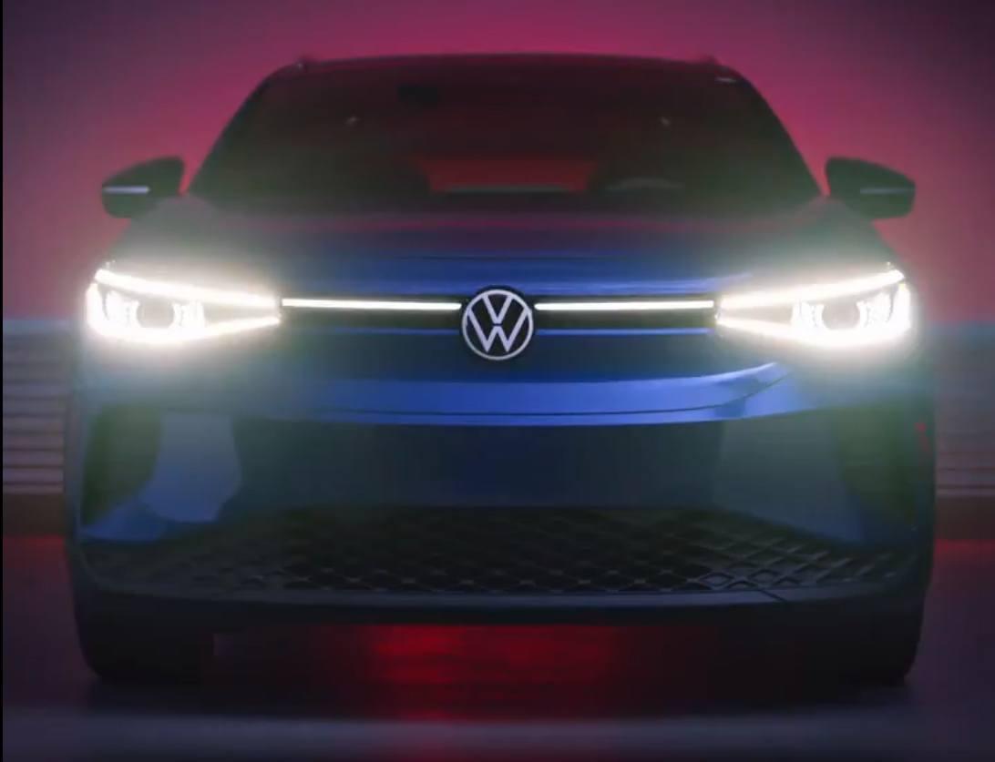 Volkswagen Estados Unidos desvela el frontal del nuevo ID.4 en un teaser más