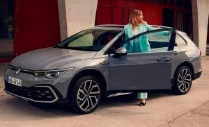 Filtrado el nuevo Volkswagen Golf Alltrack 2021, la opción más aventurera