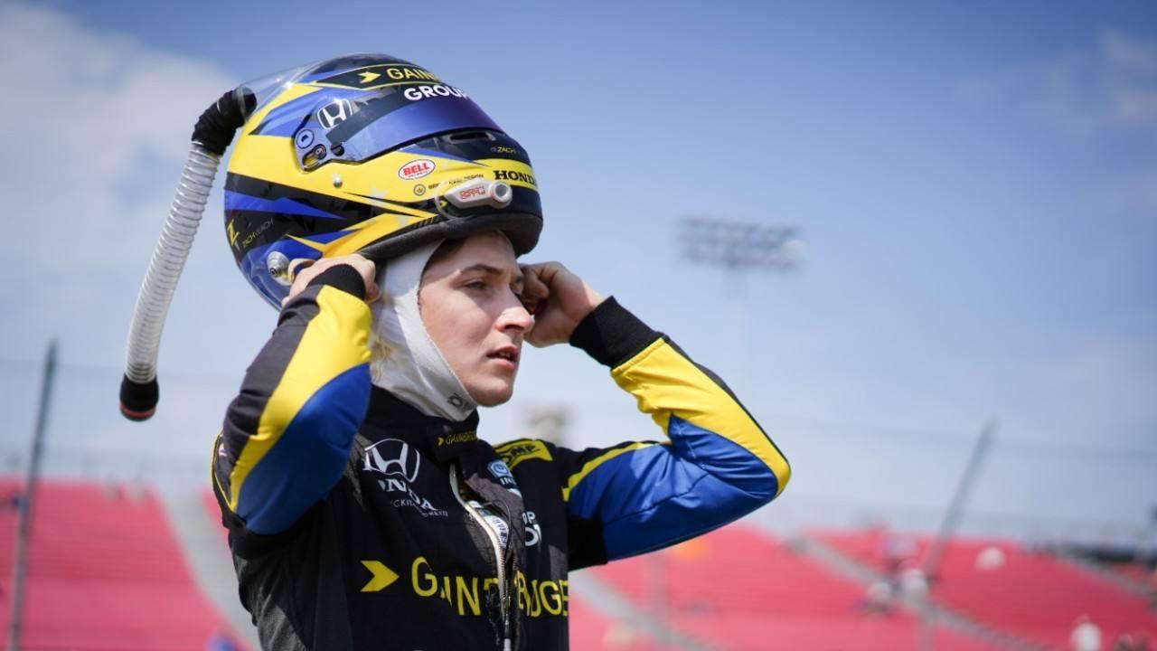 Zach Veach y Andretti Autosport rompen antes de acabar la temporada