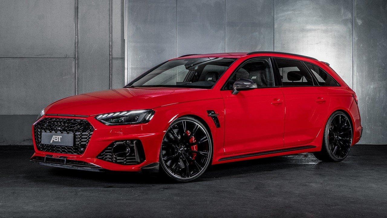 ABT RS4-S, una mirada al futuro del Audi RS 4 Avant