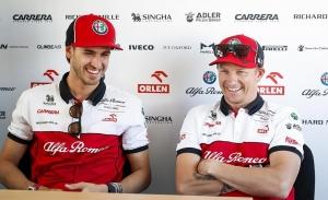 Alfa Romeo confirma a Raikkonen y Giovinazzi para 2021