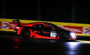 El Audi #31 lidera el paso a la superpole de las 24 Horas de Spa