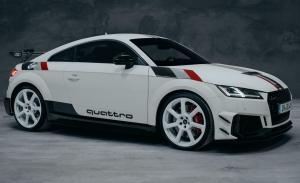 Audi TT RS '40 years of quattro': espectacular edición limitada aniversario de estilo retro