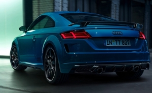 Audi TT S line competition plus, más deportividad junto a un motor de 245 CV