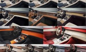 Bentley Mulliner estrena la piedra decorativa en su oferta de personalización