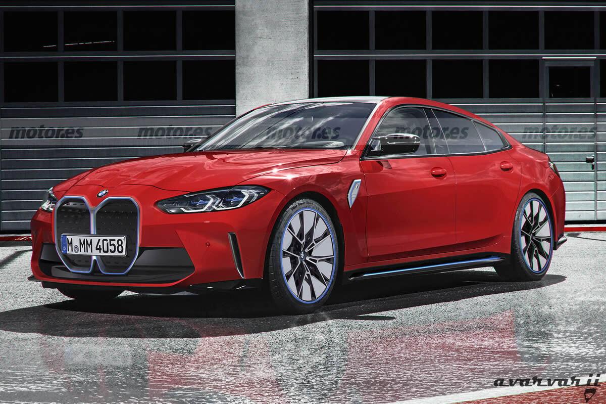 BMW i4 M, gestando un verdadero coche deportivo 100% eléctrico