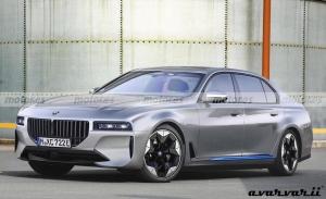 Adelantamos el diseño del futuro BMW i7, el eléctrico de lujo se estrenará en 2023