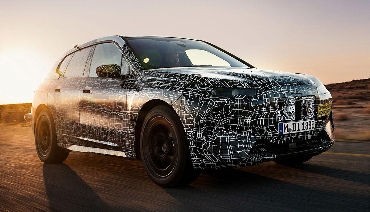 El futuro BMW iX 2021, el SUV eléctrico, dispondrá de conducción autónoma de nivel 2