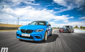 BMW M2 CS vs MINI GP, juguetes para adultos (Con vídeo)