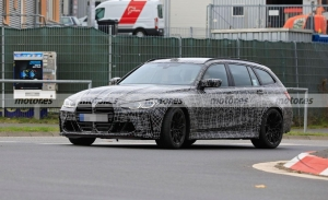 El futuro BMW M3 Touring 2022 asalta Nürburgring en nuevas fotos espía