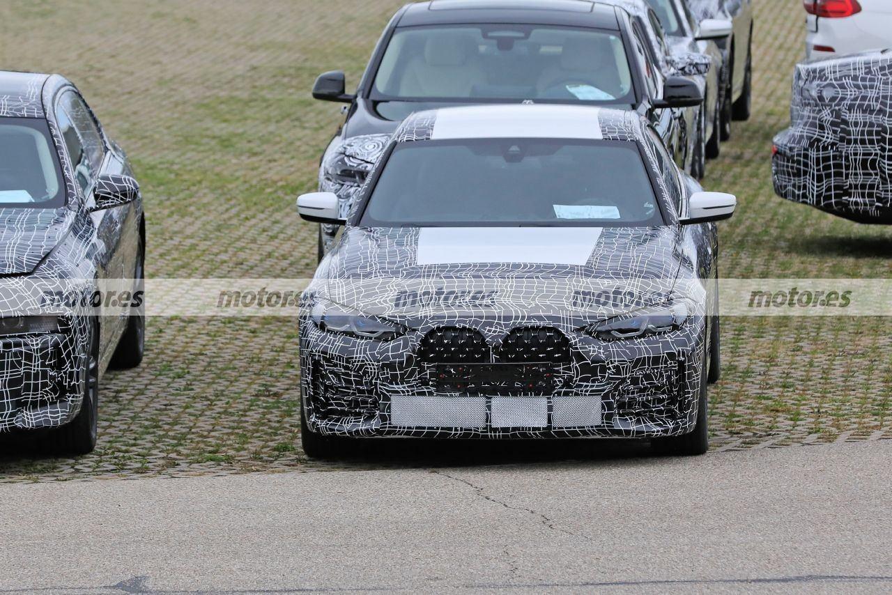 Nuevas fotos espía del BMW Serie 4 Gran Coupé 2021 destapan algunos detalles