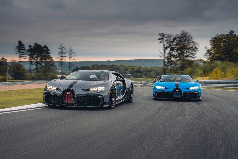 Nueva estrategia comercial de Bugatti: probar el nuevo Chiron Pur Sport en circuito