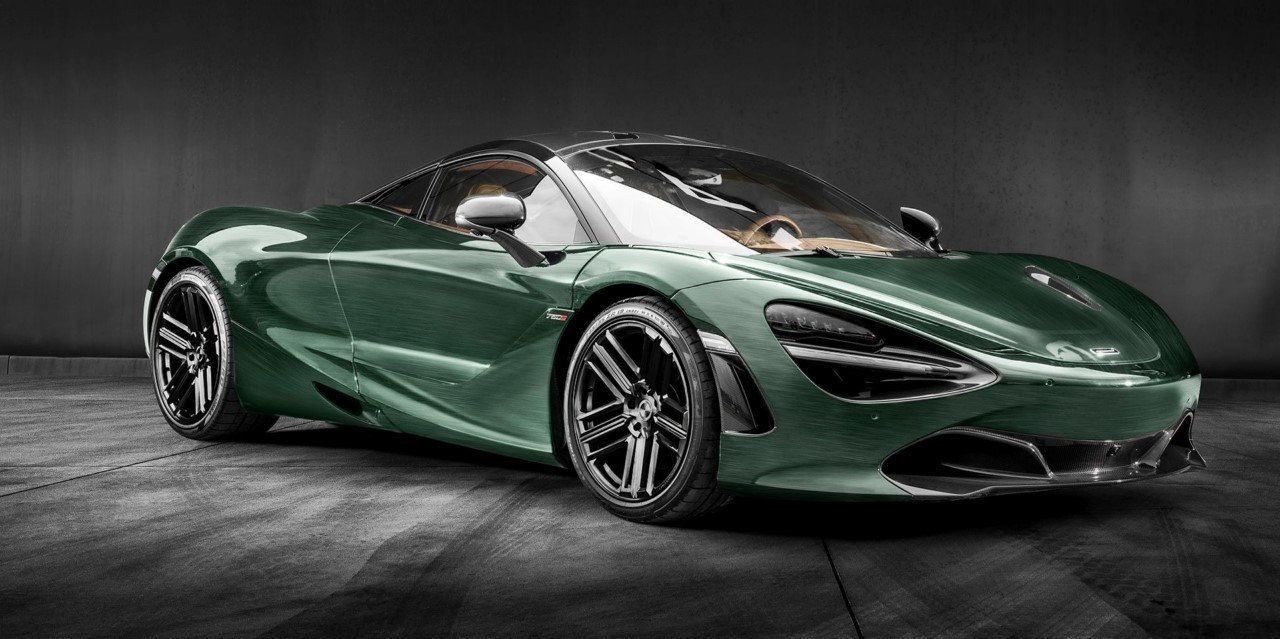 Carlex Design hace más elegante al McLaren 720S con un color puramente británico