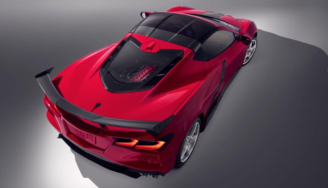 Filtrado el nuevo paquete de accesorios de carbono del Chevrolet Corvette 2021