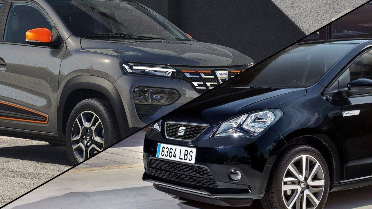 Dacia Spring vs SEAT Mii electric, ¿quién dominará la movilidad urbana eléctrica?