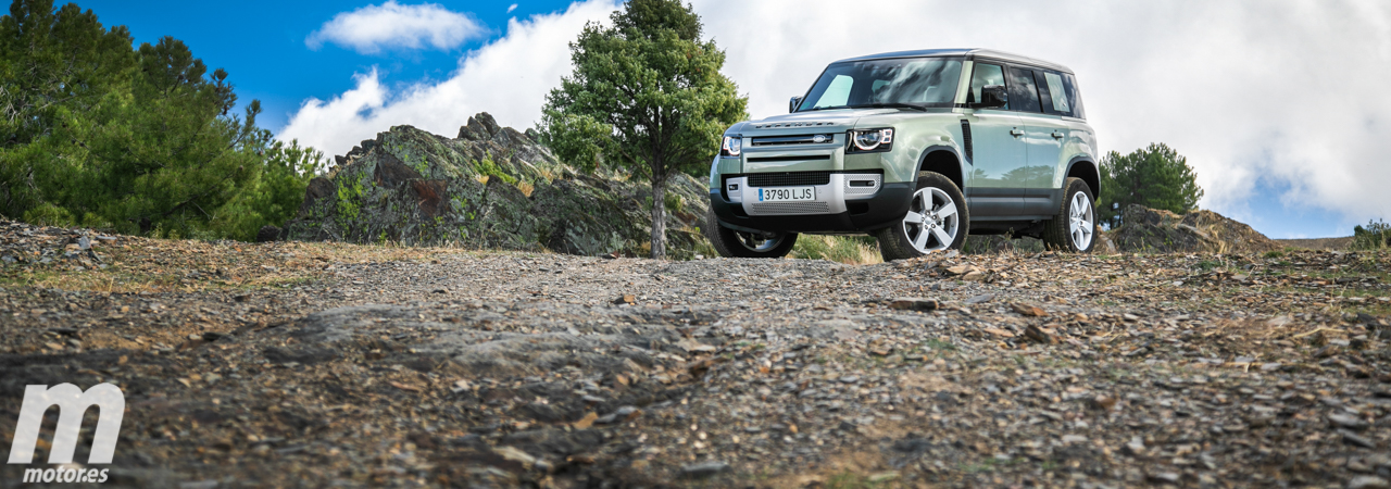 Prueba Land Rover Defender 110 SD4 240 AWD, macho alfa