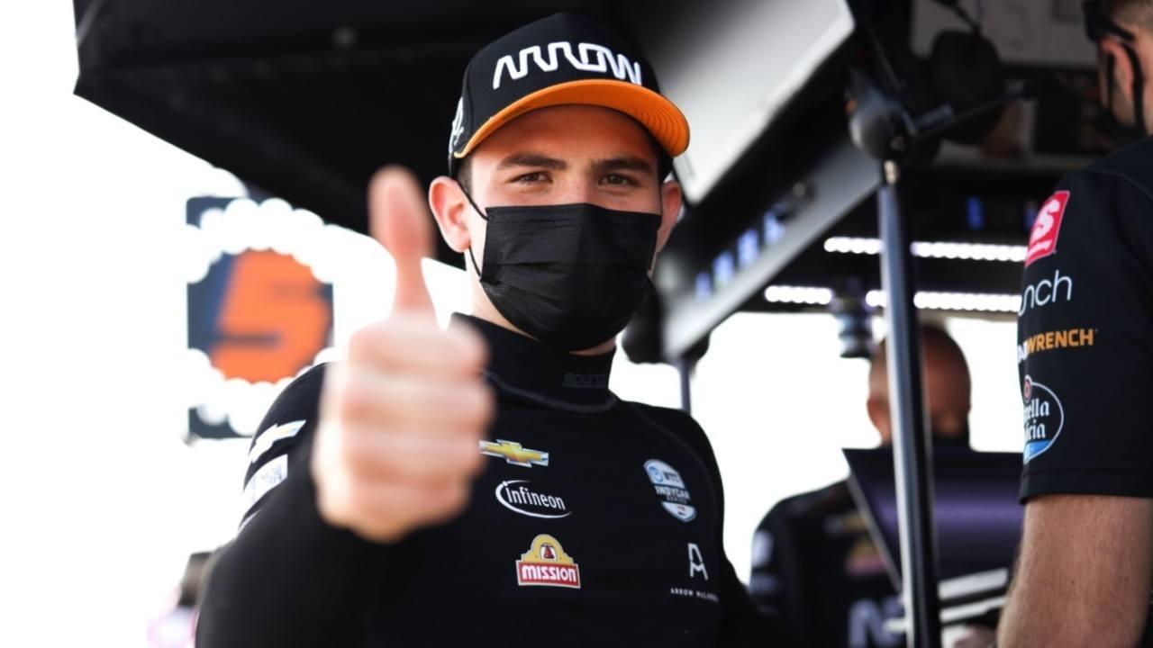 El mexicano Pato O'Ward renueva como piloto de McLaren SP para 2021