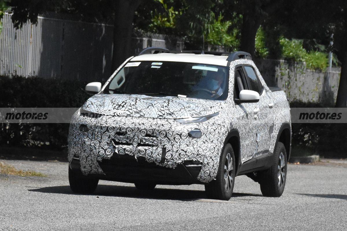 Llegan nuevas fotos espía del FIAT Toro  2022, el facelift del pick-up se pone a punto en Italia