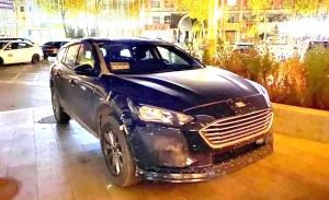 Una mula del sucesor del Ford Mondeo se deja ver desde muy cerca