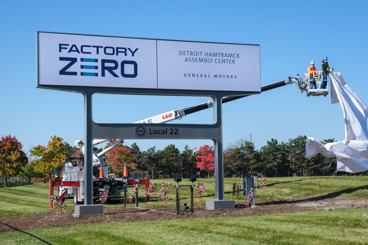Factory Zero: General Motors inaugura su ecológica fábrica de eléctricos
