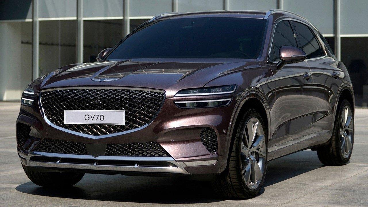 Genesis GV70, un nuevo SUV premium para conquistar Europa