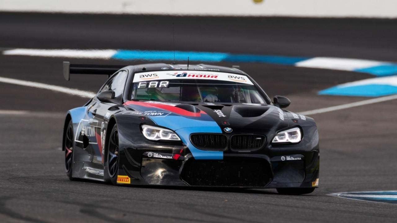 BMW domina la primera edición de las 8 Horas de Indianápolis con un doblete