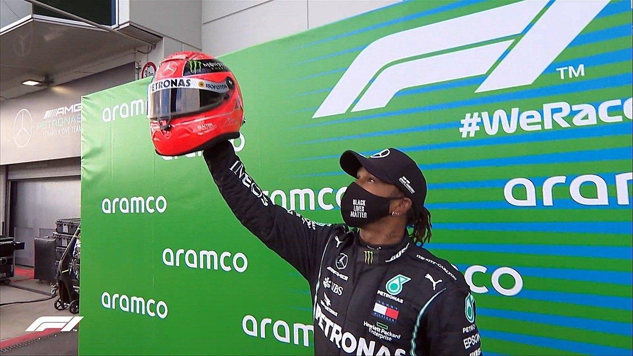 Hamilton iguala los 91 triunfos de Schumacher y Kimi es el piloto con más GP disputados