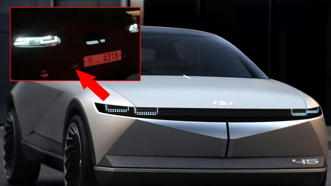 Los faros del IONIQ 5, el esperado coche eléctrico, al descubierto en estas fotos