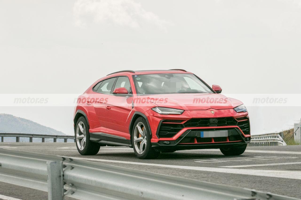 ¿Se avecina un Lamborghini Urus «descafeinado»? Atención a estas fotos espía