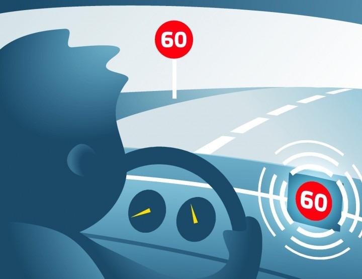 Infografía del Asistente de Velocidad Inteligente