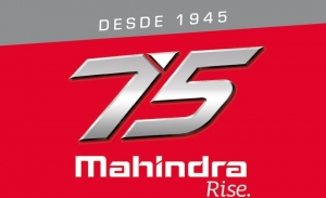 Mahindra celebra sus 75 años desde la fundación con un logo especial