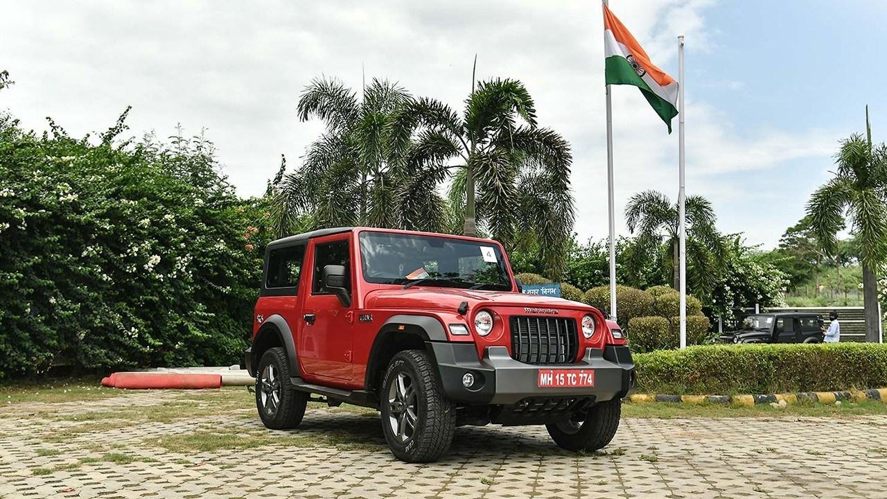El rival indio del Jeep Wrangler, el nuevo Mahindra Thar, es un éxito de ventas