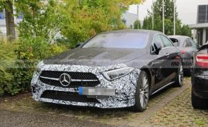 El Mercedes-AMG CLS 53 va a recibir una actualización y estas son sus primeras fotos
