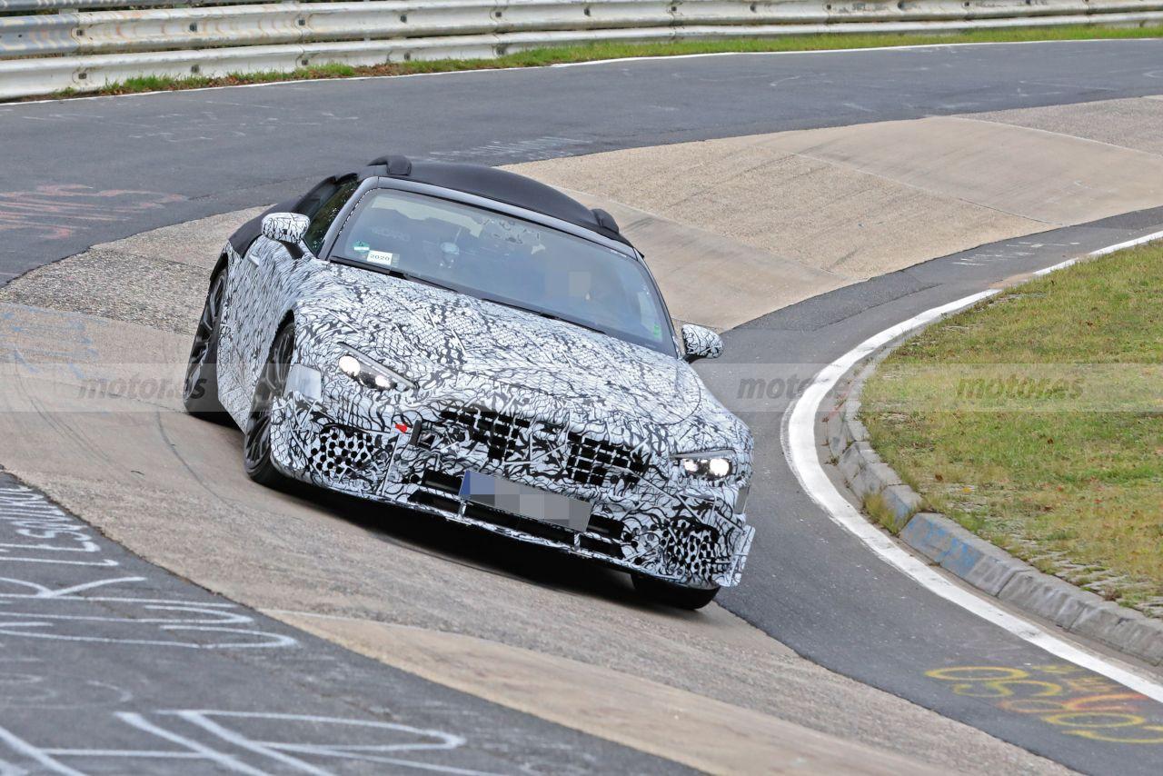 El nuevo Mercedes Clase SL (R232) a fondo en Nürburgring