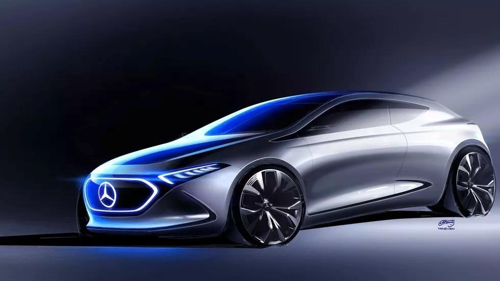 Mercedes lanzará un Clase A Eléctrico en 2025, recuperan el original EQA concept