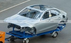 Cazado en fotos espía el chasis del nuevo Mercedes Clase C 2021