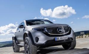 Mercedes EQC 4x4² Concept, el SUV eléctrico se transforma en un todoterreno sin límites
