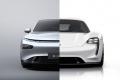 Two sides of the same coin: the Porsche Taycan and the Xpeng P7 exceed 10,000 manufactured units