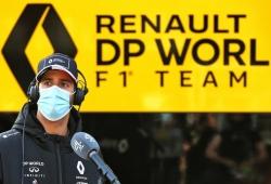 El accidente que impidió a Daniel Ricciardo tomar parte en la Q3 de Portimao