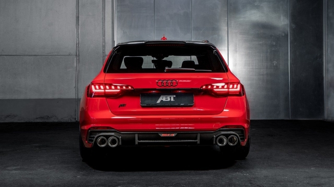 ABT RS4-S - posterior