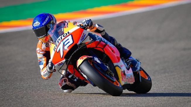 Álex Rins supera a Álex Márquez para ganar el GP de Aragón de MotoGP