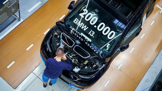Producción del BMW i3