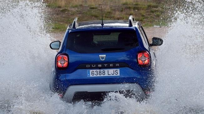 Dacia Duster GLP - posterior