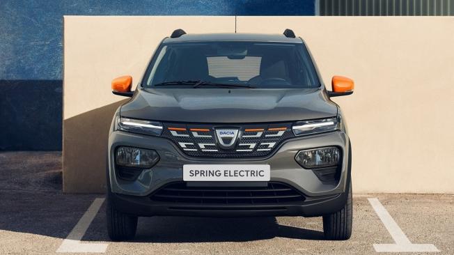 Dacia Spring 2021 - frontal