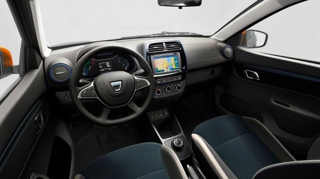 Dacia Spring 2021 - interior