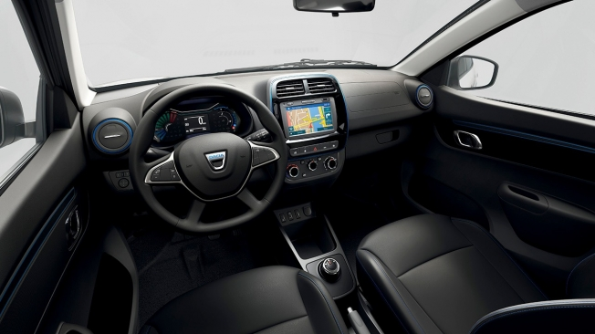 Dacia Spring car sharing - interior
