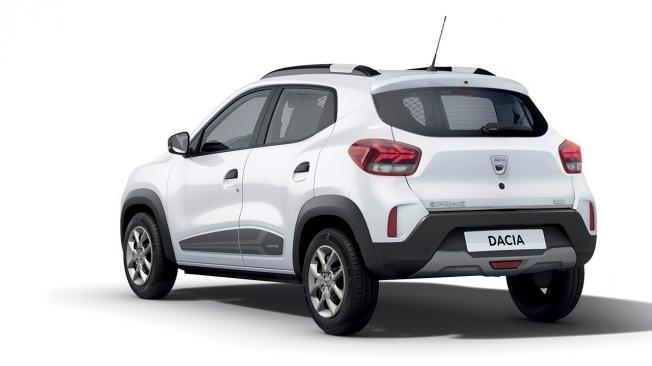 Dacia Spring Cargo - posterior